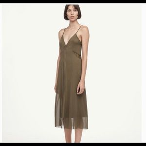 Brand new with tag tag and none dress